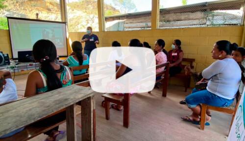 Talleres sobre desigualdad de género  Video
