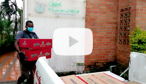 Alimentos y guías para familias vulnerables Video