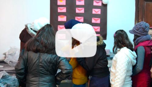 Ropa de invierno para 200 niños y niñas Video