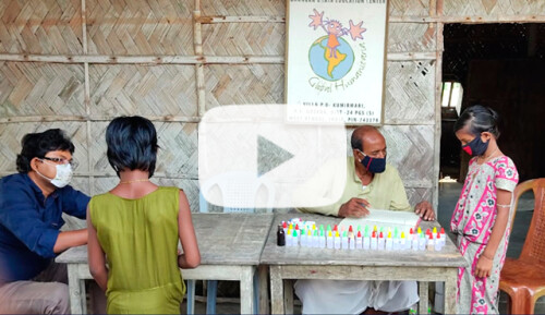 Atención primaria en Kumirmari, Sunderbans Video