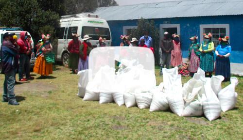 Canastas de alimentos para 1.000 familias Video
