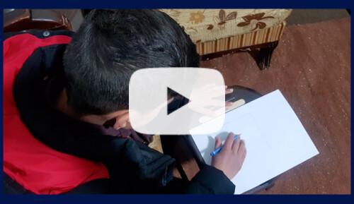 Refuerzo y apoyo para niños sirios con cáncer Video