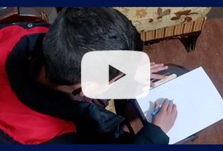 Ayuda educativa a niños sirios con cáncer