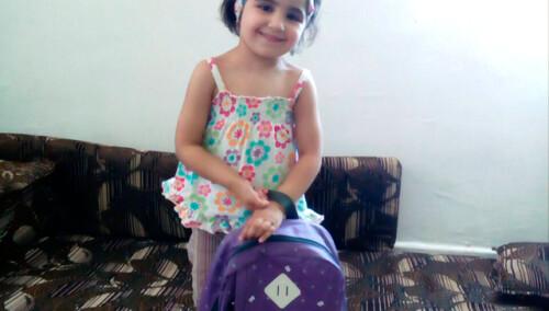 Mochilas y material escolar para 200 niños