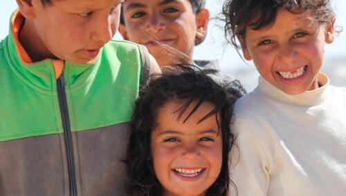 Ropa de invierno para 200 niños y niñas